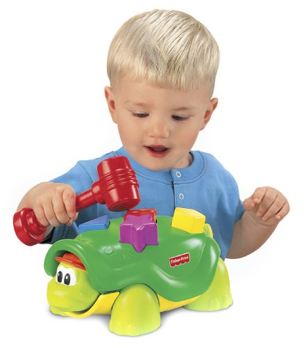 fisher price tappy turtle - 1