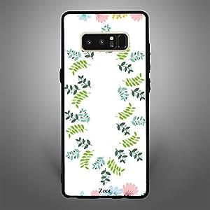Samsung Galaxy Note 8 Printed Leaves