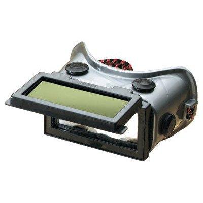 Flexible/Rigid Frame Welding Goggles - welders goggle w/lift front cover w/sha ()