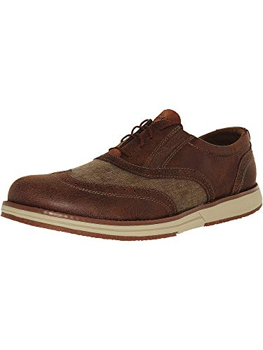 Skechers Men's On The Go Hybrid Brown Ankle-High Oxford Shoe - 8M ()