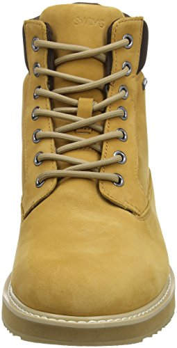 Marrone Workboot Camel Barry Stivaletti Uomo Leather Swims P5FxXTwqxn