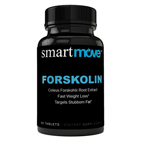 Highest Quality Forskolin Max Strength 500 MG for Weight Loss - Burn Belly Fat + Boost Metabolism - Safe & Effective - Dietary Supplement - for Men & for Women - High Quality - Pure Forskolin Extract