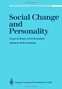 Essays about social change