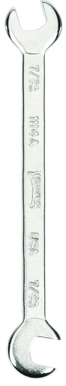 15//64-Inch Williams 1115A Mini Open End Wrench