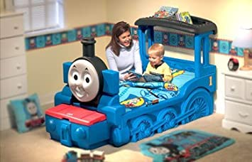 huge discount 6c2e9 2db79 Little Tikes Thomas & Friends Toddler Bed Box: Amazon.ca ...