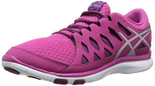 ASICS Women's GEL Fit Tempo 2 Fitness Shoe, Berry/Silver/Plum, 6.5 M US by ASICS