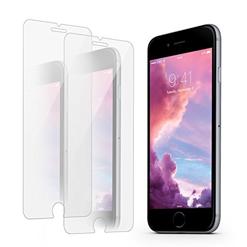 iPhone 8 Plus/ 7 Plus Screen Protector, Atill Mirror Tempered Glass Screen Protector [Mirror Surface] [Anti-Scratch] [Bubble-Free] for iPhone 8 Plus, 7 Plus(2 Pack)
