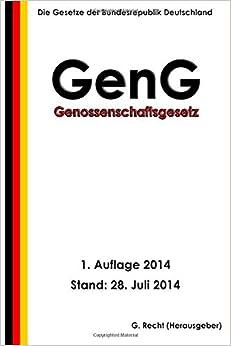 Genossenschaftsgesetz - GenG