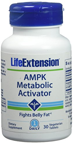 Life Extension Ampk Metabolic Activator 30 Vegetarian Tablets, 0.165 Pound