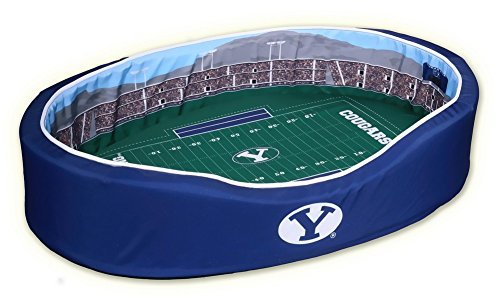 NCAA BYU Cougars Stadium Pet Beds, 18 x 22-Inch