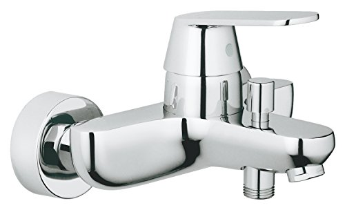 (GROHE one hand-bathtub mixer Eurosmart Cosmopolitan 32831 DN15 wall mount chrome 32831000)