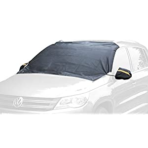 Chanvi momo-carover Windshield Cover Snow Magnetic Shade Ice Frost Rain Resistant, Waterproof Windproof Dustproof Outdoor Car Covers