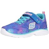 Skechers Kids Girls Spirit Sprintz-Rainbow Raz Sneaker