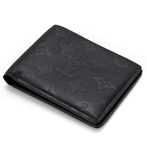 財布 二つ折り財布 メンズ ポルトフォイユ ミュルティプル M62901【ルイヴィトン LOUIS VUITTON モノグラム シャドウ レザー 男性 プレゼント ギフト 正規品 セール】 B07NRYG2XX