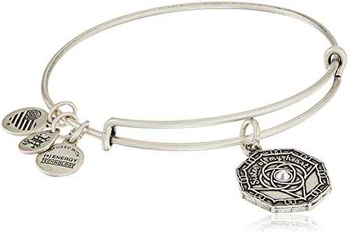 Alex and Ani Bridesmaid Rafaelian Silver Bangle Bracelet]()
