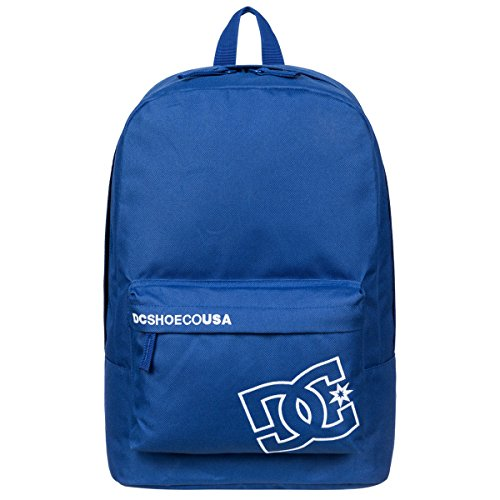 DC Mens Bunker Solid Backpack, Surf the Web, One Size (Dc Shoes Mens Backpack)