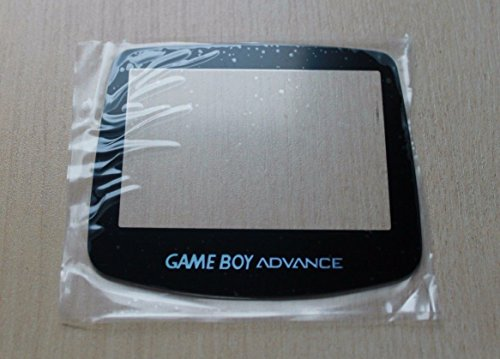 Ambertown Glass Panel Screen Lens for Game Boy Advance GBA System Replacement