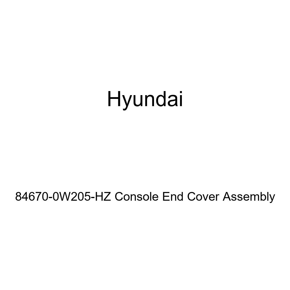 Genuine Hyundai 84670-0W205-HZ Console End Cover Assembly