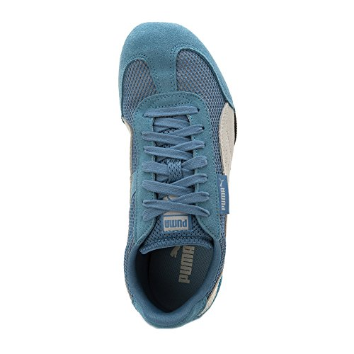 Puma Dames 76 Hardloopschoenen Blauw Hemelsblauw / Zwart