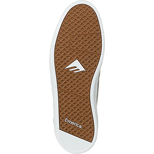Emerica - Zapatillas de skateboarding para hombre multicolor Grey/White