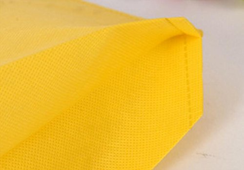de sac en 1pc tissu Yudanwin de Jaune Handbag courses réutilisable Chiffon Eco Sac wBInxqTX