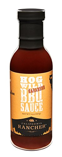 Hog Wild Habanero BBQ Sauce by California Rancher (1)