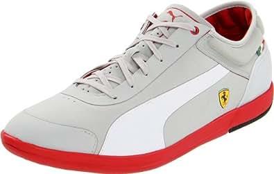 Puma Men's Driving Power LT Lo SF Ferrari Fashion Sneaker,Gray Violet/White,14 D US
