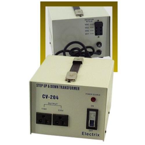 AC Power Voltage Converter 110VAC to 220VAC 1500 Watt Bi-directional