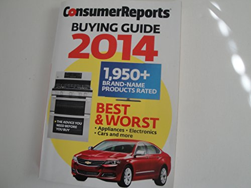 Consumer Reports Buying Guide 2014