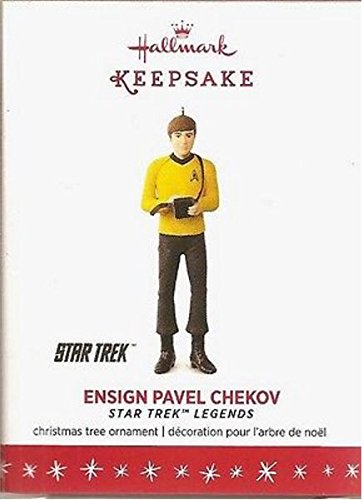 Hallmark Keepsake STAR TREK Legends Ensign Pavel Chekov Ornament - Limited Edition 2016