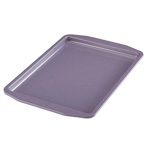 Paula Deen Nonstick Bakeware Cookie Pan, 10″ x 15″, Lavender Speckle