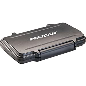 Pelican 0910-015-110 Memory Card Case - Polycarbonate - Black - 16 Memory Card
