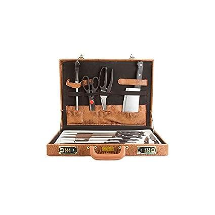 Compra Maletín Cuchillos de Cocina 13 piezas en Amazon.es