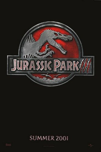 JURASSIC PARK III 3 MOVIE POSTER 2 Sided ORIGINAL Advance 27x40