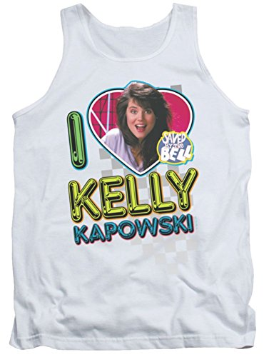 I Love Kelly Kapowski Men's Tank Top White