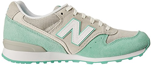 New Balance 996 Damen Sneaker Grau Grey Mint Green