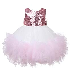 Girls Sequin Dresses for Christening