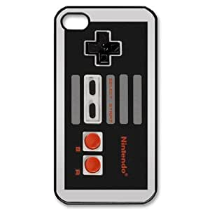 Design Funny Old school Nintendo controller iphone 4 4s Best Durable Case hjbrhga1544
