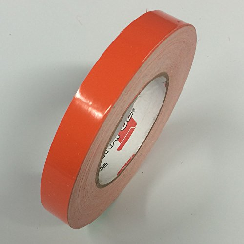 ORACAL 651 Vinyl Pinstriping Tape - Stripe Decals, Stickers, Striping - 1/2 Light Orange