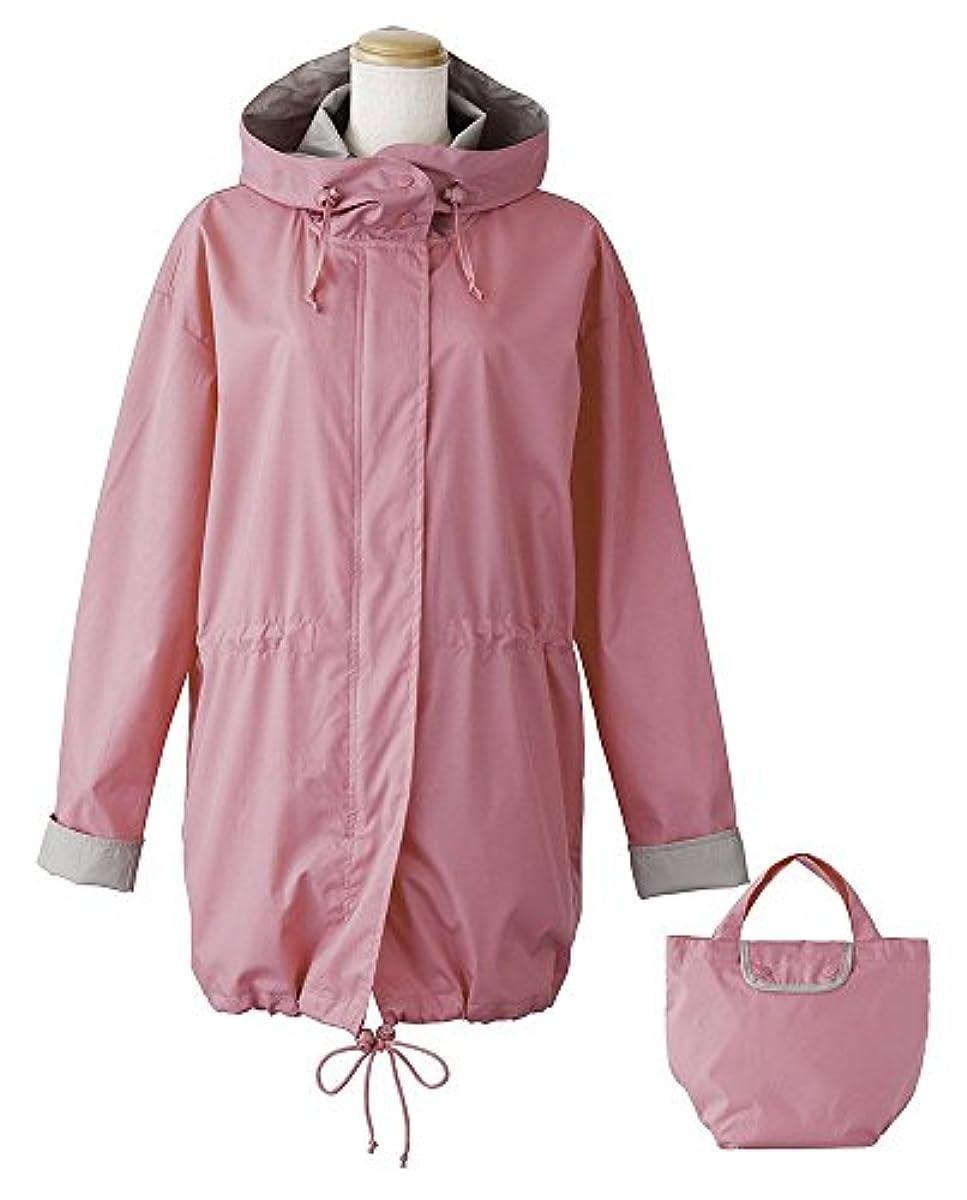 [해외] 비코즈 레인코트 모즈코트 핑크 BE-75009