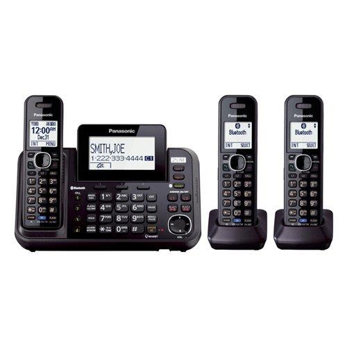 Panasonic KX-TG9542B + KX-TGA950B 3-Handset Cordless System (2 Line) DECT 6.0 1.9Ghz (Wireless Phone Handset Additional)