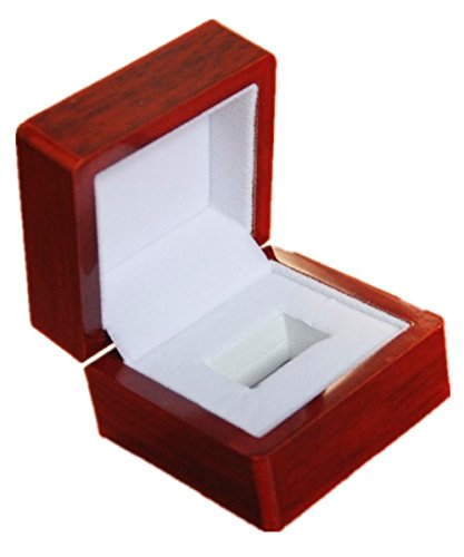 Hole One Display Case (Melis-Championship Rings Display Cases Wooden Box (1 Holes))