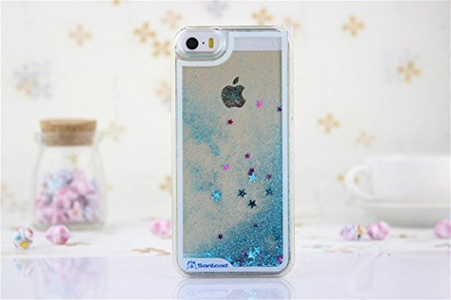 borch-fashion-sparkling-stars-quicksand-liquid-hard-case-cover-for-iphone-5-5g-5s-blue