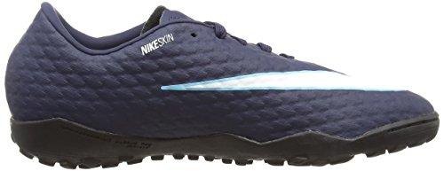 glacier 414 Calcio Iii Uomo Nike obsidian Hypervenomx Blu gamma Scarpe Phelon Blu Tf Da bianco xBwTgYO6qB