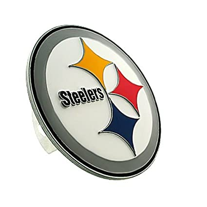 amazon com siskiyou pittsburgh steelers logo hitch cover rh amazon com  pittsburgh steelers logo pictures
