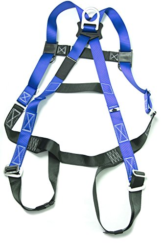 Gulfe Warehouse Adjustable Safety Harness Full-Body Picker w/ Pass Through Legs Black/Blue by Gulfe (Image #1)