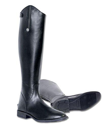 Ascot nero da stivali Bosco equitazione ampia dimorare Fw0UIqU