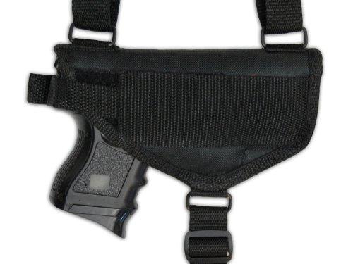 Barsony Cross Harness Shoulder Holster for Beretta Cougar 8000 right