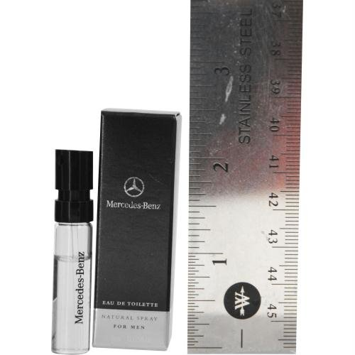 Mercedes-Benz for Men Eau de Toilette Spray Vial, 0.05 Ounce - 0.05 Ounce Edt
