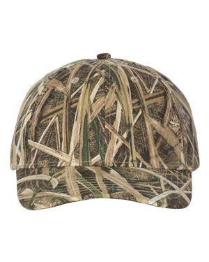 Ikat Kati LC15V Licensed Camo Cap with Velcro Mossy Oak Shadow Grass Adjustable